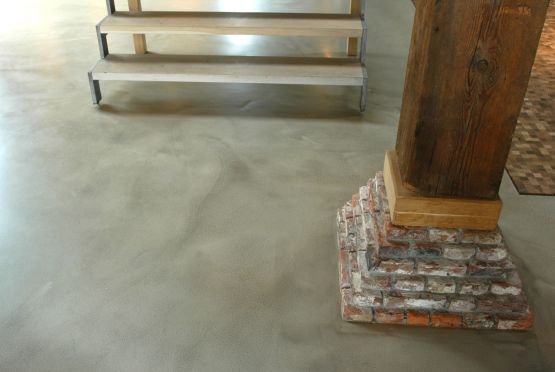 Karakter betongietvloer