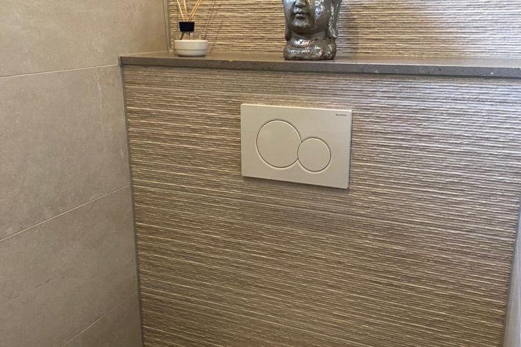 90x30 structuurtegel toilet