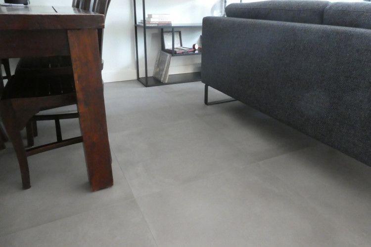 De vloer is schitterend! Vloertegel mat 750X750
